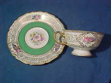 Vintage ROSENTHAL China CUP + SAUCER in IVORIE PATTERN
