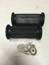 (A13) AMC, Norton AJS MATCHLESS Pillion Reposapiés De Goma 01-0847