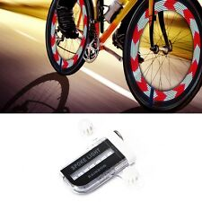 14 LED Motorcycle Bicycle Bike Cycling Signal Wheel Tire Spoke Light 30 Changes