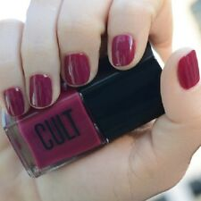 NEW! CULT Nail Polish Lacquer in LOS FELIZ ~ Romantic Deep Orchid Red