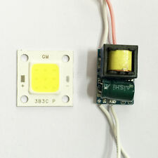 Cheapest 10W LED High Power COB Chip  Warm White+Input AC 85V-265V Led Driver