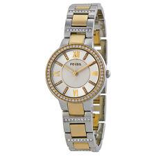 Fossil Virginia Two-tone Steel Bracelet Ladies Watch ES3503