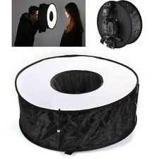"18"" 45cm Easy-Fold Circular Macro Ring Softbox for Speedlite Flash Photography"