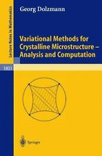 Variational Methods for Crystalline Microstructure - Analysis and Comp-ExLibrary