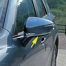 Chrome Side Mirror Trims For Mazda CX-3 2016 CX3 Rear View Cover Accessories
