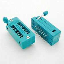 2pcs 14 Pin Universal ZIF DIP Tester IC Test Socket