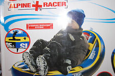 NIB Sportstuff Slalom Alpine Sled Snow Tube Downhill Racer ages 6 and up Winter