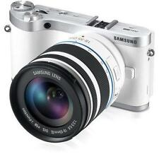 Samsung NX NX300 20.3 MP Digital Camera Kit w/18-55, White - 7705