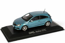 1:43 Opel Astra H GTC breezeblau blau blue Dealer-Edition Minichamps 403043023