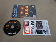 PS2 Playstation 2 Pal Game KILLZONE with Box Instructions