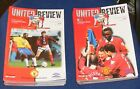 MANCHESTER UNITED HOME PROGRAMMES 1997-1998