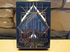 Card Master (Gilded) Gold Seal Playing Cards by De'vo SIGNED