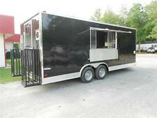 NEW 8.5x20 8.5 X 20 Enclosed Concession Food Vending BBQ Trailer ** MUST SEE **