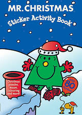 NEW  MR CHRISTMAS  STICKER ACTIVITY book Mr Men Roger Hargreaves Little Miss