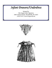 Victorian Clothing Civil War Infant Drawers and Underdress New Pattern