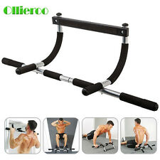 Ollieroo New Heavy Duty Doorway Chin Pull Up Bar Exercise Fitness Door Mounted