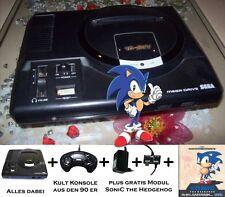 Sega Mega Drive KONSOLE PAD und Spiel Sonic