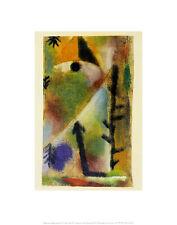 Paul Klee Komposition Poster Kunstdruck Bild 36x28cm - Kostenloser Versand