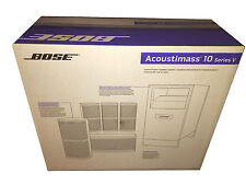 Bose Acoustimass 10 Series V Home Theater Speaker System - Black Brand NEW