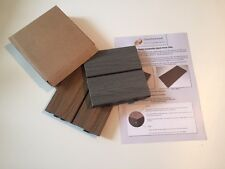Composite Decking Tile Sample Pack - 2 Colours