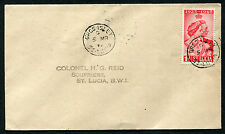 ST. LUCIA: (10360) RSW/GROS ISLET cancel/cover