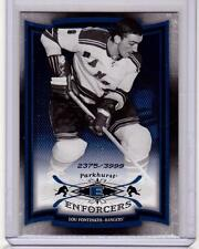 LOU FONTINATO 06/07 Parkhurst ENFORCERS Insert Card #237 New York Rangers /3999