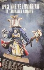 Warhammer 40K SPACE MARINE LIBRARIAN IN TERMINATOR ARMOUR