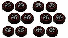 12 Brightvision Redline Wheels – 12 Large Size Bright Chrome Cap Style Wheels