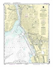 NOAA Chart Buffalo Harbor 27th Edition 14833