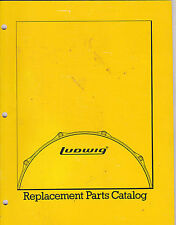 VINTAGE MUSICAL INSTRUMENT CATALOG #10632 - 1983 LUDWIG DRUM PARTS