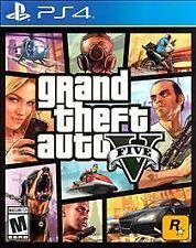 Grand Theft Auto V (Sony PlayStation 4, 2014) GTA 5 Brand New Factory Sealed