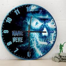 Cráneo Personalizado Cocina De Pared Colgante Gamer soldado deber Reloj Regalo RC155