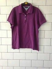 URBAN VINTAGE RETRO TOMMY HILFIGER SHORT SLEEVE POLO TOP T SHIRT UK MEDIUM #24
