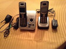 Used Radio Shack Caller ID Cordless Phone Dect 6.0 Base Answering Machine