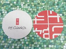Beer Coaster ~ P.F. CHANG'S Chinese Restaurant Chain ** Add'l Coasters $0.25 S&H