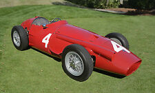 1955 Maserati 250F Formula 1 Grand Prix Vintage Classic Race Car Photo (CA-0928)