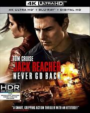 Jack Reacher: Never Go Back (4K Ultra HD)(UHD)(Atmos)(Pre-order/ Jan 31)