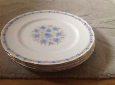 5 Dinner Plates by Tuscan Love in the Mist Pattern.