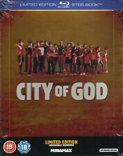 City Of God Limited Edition Blu-Ray Exclusive Numbered Steelbook New and Sealed+