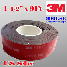 """3M 1-1/2"""" x 9 ft VHB Double Sided Foam Adhesive Tape 5952 Acrylic 1.5 inch 38mm"""