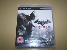 BATMAN: Arkham City (Sony PLAYSTATION 3, 2011) ** NUOVO E SIGILLATO **