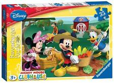 Ravensburger 08719 Disney's Mickey Mouse Club House 35 Rompecabezas Pieza Niños