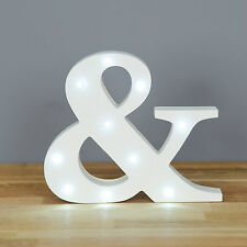 Up In Lights Light up Letters - Ampersand / And Sign