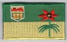 Saskatchewan Provincial Flag Patch Embroidered Iron On Applique