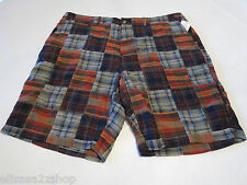 Men's Tommy Hilfiger 32 shorts 018 Swatch 7860572 walk casual TH Short RARE