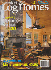 COUNTRY'S BEST LOG HOMES MAGAZINE JANUARY 2005 *LOG HOMES FOR THE HOLIDAYS*