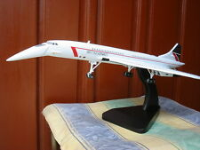 British Airways CONCORDE Model Aircraft Airplane TRAVEL AGENT Gear down Landor