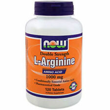 Now Foods L-ARGININE 1000 mg Amino Acid Powerhouse - 120 tablets BUILD MUSCLE