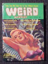 1971 WEIRD MYSTERY Digest Magazine #3 VF- Robert Bloch