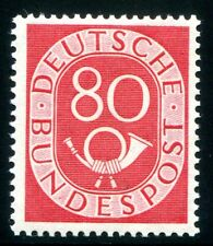 BUND 1951 137 ** POSTFRISCH POSTHORN geprüft SCHLEGEL BPP 500€(Z2342
